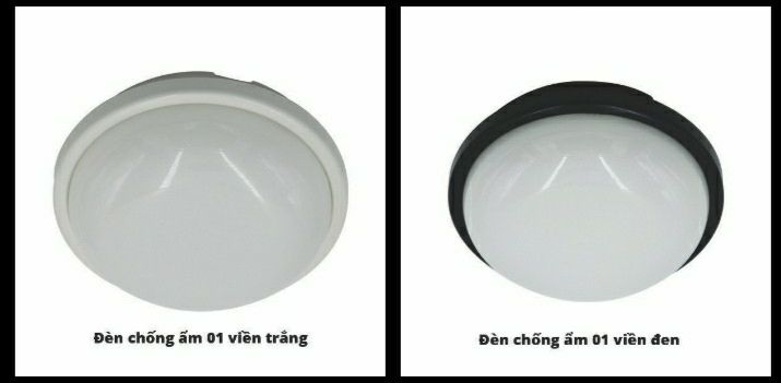 Đèn chống ẩm tròn 15w