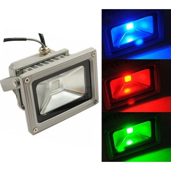 đèn pha led 10w màu