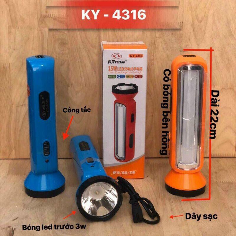 Đèn pin 2 chức năng(đèn pin và đèn bàn)