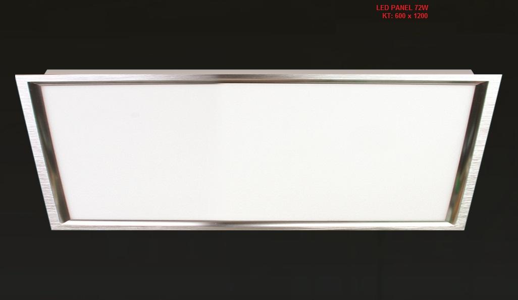 Led panel 600 x 1200 72w